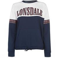 Bluze cu guler rotund Lonsdale pentru Femei
