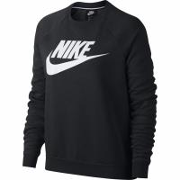 Bluze cu guler rotund Nike W Rally HBR negru 930905 010 barbati