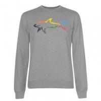 Bluze cu guler rotund Paul And Shark Multi Colour Shark pentru Barbati