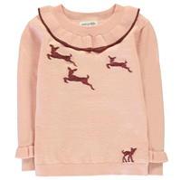Bluze cu guler rotund Rose and Wilde Bambi pentru fete pentru Bebelusi