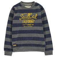 Bluze cu guler rotund SoulCal Yarn Dye pentru baietei