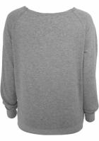 Bluze dama simple cu guler larg gri Urban Classics