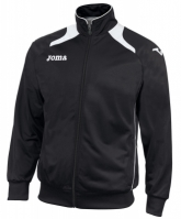 Bluze de trening Joma Poly-tricot Champion II Man Neg-blan