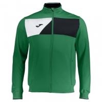 Bluze de trening Joma Microfiber Crew II verde-negru