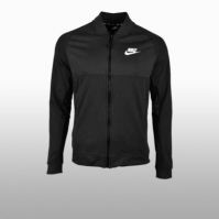 Bluza trening neagra Nike M Nsw Av15 Jkt Flc Barbati