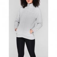 Bluze Donnay cu fermoar pentru Femei gri marl