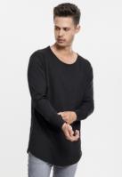Bluze fashion cu maneca lunga negru Urban Classics