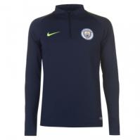 Bluze fotbal Nike Manchester City Squad 2018 2019 pentru Barbati