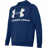 Bluze Hanorac barbati Under Armor Rival Logo albastru 1345628-449