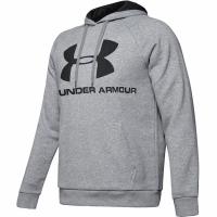 Bluze Hanorac Under Armor Rival Logo gri 1345628-035