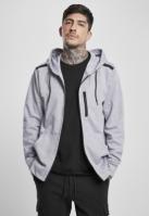 Bluze Hanorace cu Fermoar Taped Tech deschis-gri Southpole