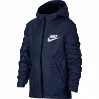 Bluze Jacheta For Nike HD cu captuseala B bleumarin 856195 429 baiat pentru copii