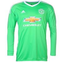 Bluze portar fotbal adidas Manchester United Away 2017 2018