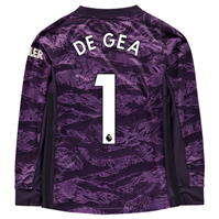 Bluze portar fotbal adidas Manchester United David De Gea Acasa 2019 2020 pentru copii