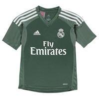 Bluze portar fotbal adidas Real Madrid Home 2017 2018 pentru copii