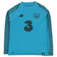 Bluze portar fotbal New Balance Ireland Away 2018 2019 pentru copii