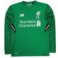 Bluze portar fotbal New Balance Liverpool Home 2017 2018 pentru copii