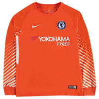 Bluze portar fotbal Nike Chelsea Home 2017 2018 pentru copii