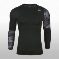 Bluza alegare Reebok Training Compression Camo BR9579 barbati