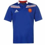 Bluze rugby adidas France Home pentru Barbati
