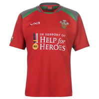Bluze rugby Help for Heroes Wales pentru Barbati