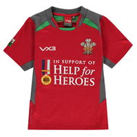 Bluze rugby Help for Heroes Wales pentru copii