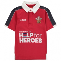 Bluze rugby VX-3 Help For Heroes Wales Juniors