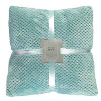 Bluze Set 2 Linens and Lace Flannel Cushions