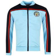Bluze trening Score Draw Retro Manchester City 1982 Home pentru Barbati