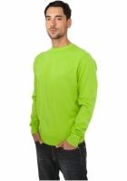 Bluze tricotate barbati verde lime Urban Classics