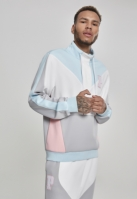 Bold Track Halfzip alb-cool Pink Dolphin