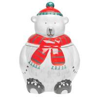 Borcan gri and Willow gri Polar Bear Cookie