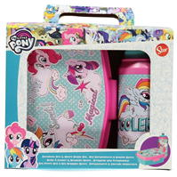 My Little Pony and Lunch Box 2 Piece Set