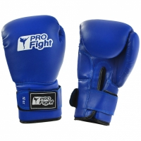Manusi de box PROFIGHT PVC albastru