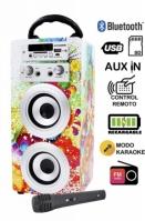 Boxa Portabila Bluetooth Cu Microfon