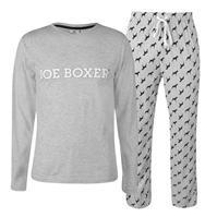 Boxeri Pijamale Joe cu Maneca Lunga pentru Barbati