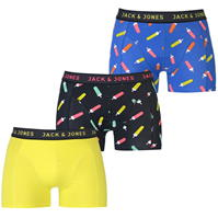 Boxeri Set de 3 Jack and Jones Popsicle