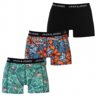Boxeri Set de 3 Jack and Jones Tropica