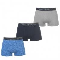 Boxeri Set de 3 Saville Row pentru Barbati