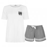 Boxeri Set pijama cu pantaloni scurti Joe pentru Femei