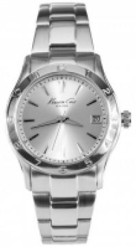 Bratari Ceas Kenneth Cole - Elegance Sunray Silver Dial Ss Gent Ss Date