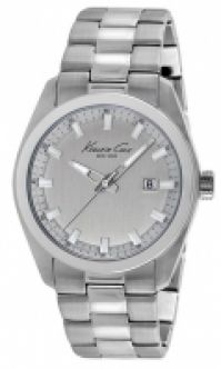 Bratari Ceas Kenneth Cole - New York Ss Gent Ss Silver Dial Date