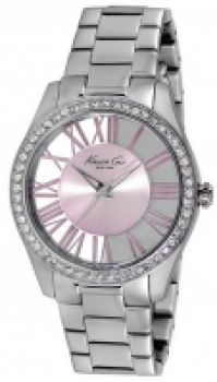 Bratari Ceas Kenneth Cole - Transparency With Stone Ss Ip roz Ss 3 Atm 38mm pentru Femei