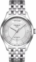 Bratari Tissot Mod T-one - Gent - Automatic - 3h - Silver Dial - - Arabic Index