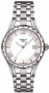 Bratari Tissot Mod T- - Quartz - Silver Dial - - Roman Index - Data - Swiss Made pentru Femei