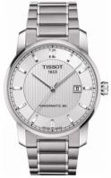 Bratari Tissot Mod Titanium - Gent - Automatic - Silver Dial - - Arabic Index