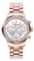 Bratari Viceroy Watches Mod 471068-17 - Multifunction - 38 Mm - Stainless Steel Case And pentru Femei