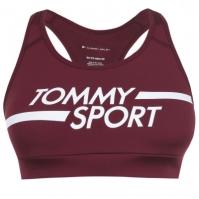 Bustiera cu logo Tommy Sport