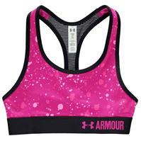 Bustiera sport Under Armour HeatGear Armour Printed pentru fete