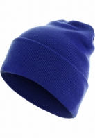 Caciula Beanie Basic Flap Long Version albastru roial MasterDis